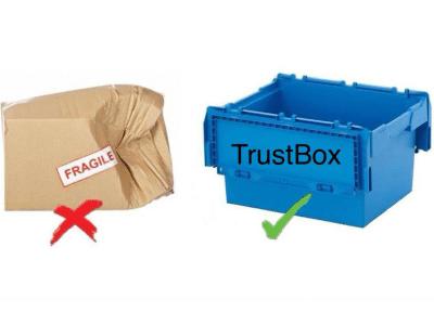 Аренда коробок trust